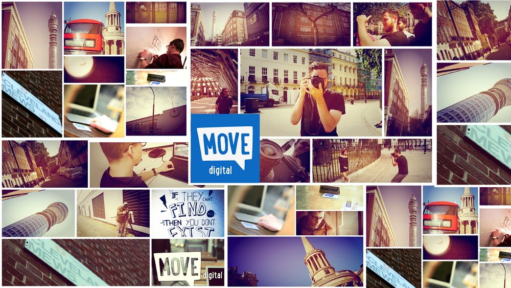 MOVE Digital out and about in Fitzrovia