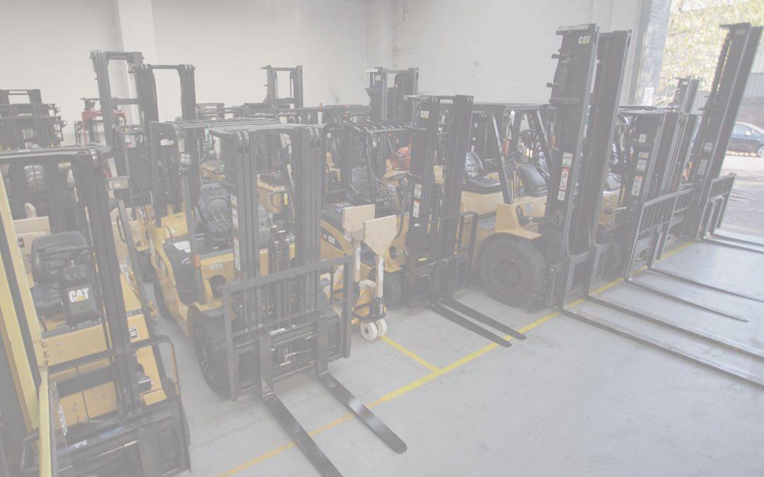 Forklift hire London