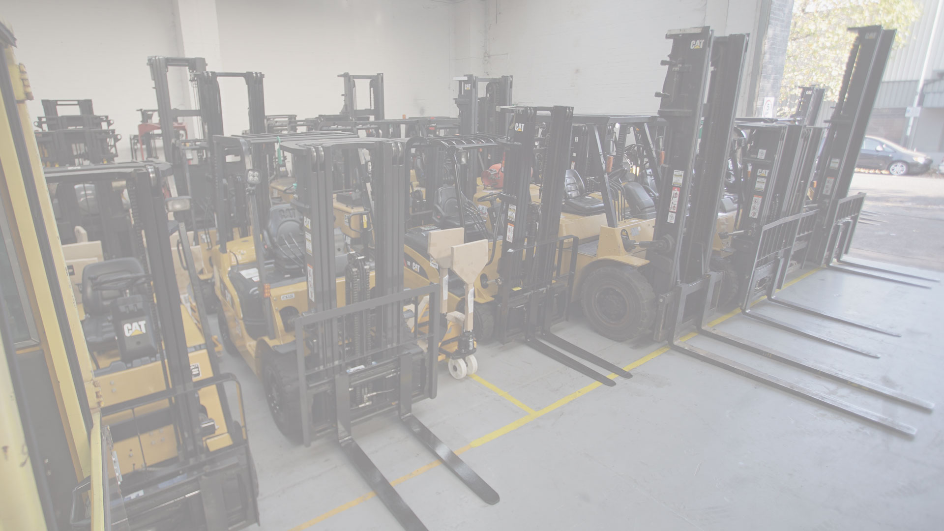 Forklift hire London
